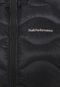 Peak Performance - HELIUM HOOD JACKET - Down jacket - black - 2