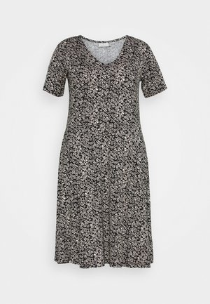 KCMOVI DRESS - Jersey dress - black