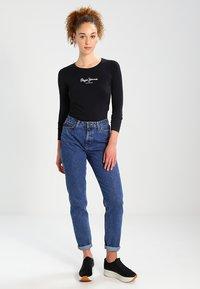 Pepe Jeans - NEW VIRGINIA  - Topper langermet - black - 1