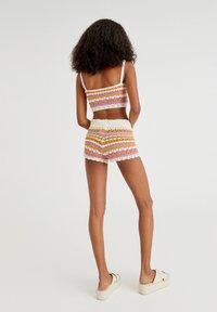 PULL&BEAR - Shorts - mottled beige - 2