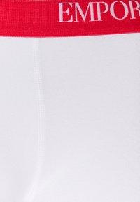 Emporio Armani - TRUNK 3 PACK - Underbukse - white - 6