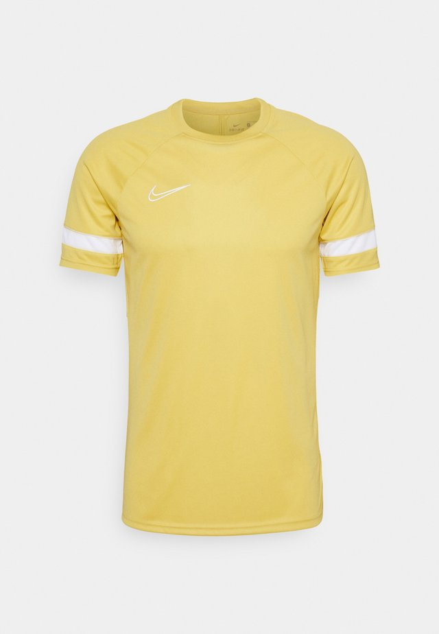 ACADEMY 21 - T-shirt print - saturn gold/white
