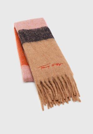 SIGNATURE FRESH FLUFFY SCARF - Szal - pink