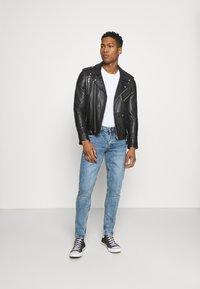 Redefined Rebel - STOCKHOLM DESTROY - Slim fit jeans - pearl blue - 1