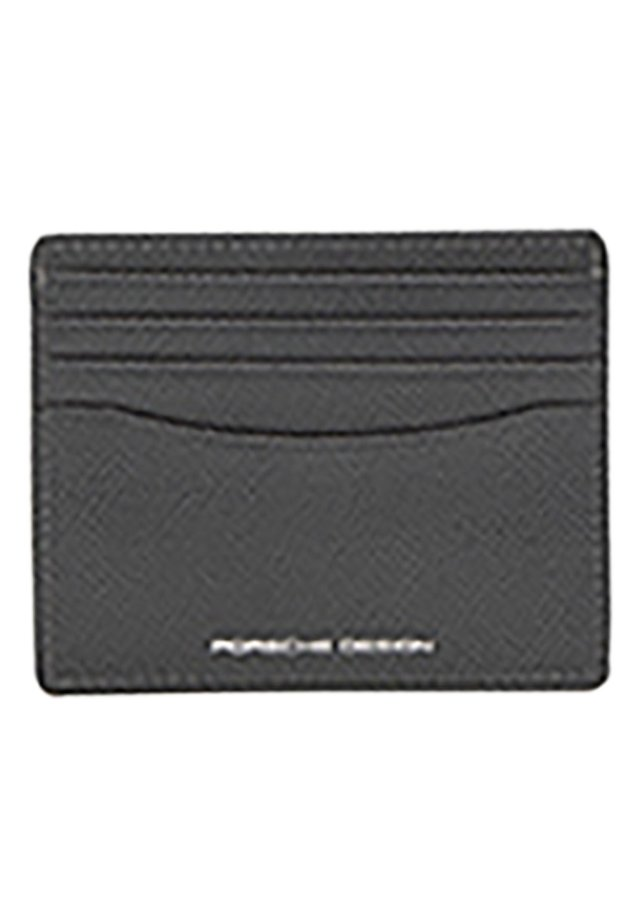 Business card holder - grey