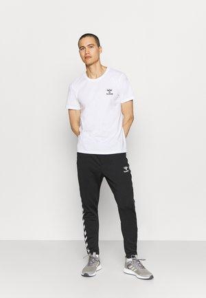 RIVER 2 PACK - Basic T-shirt - black/white
