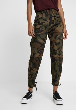 ARMY RADAR STRAP - Jeans Tapered Fit - wild olive/forest night