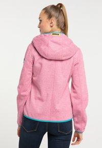 Schmuddelwedda - Outdoor jacket - pink melange - 2