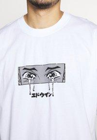 Edwin - SAD - Print T-shirt - white - 5