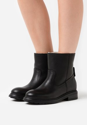 LEATHER  - Bottines - black