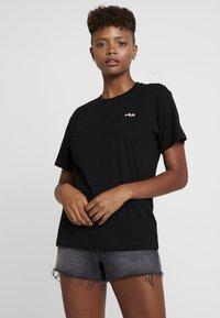 Fila - EARA TEE - Jednoduché triko - black - 0
