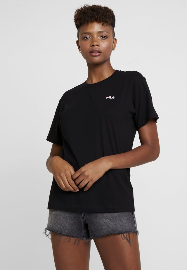 EARA TEE - T-shirt basic - black
