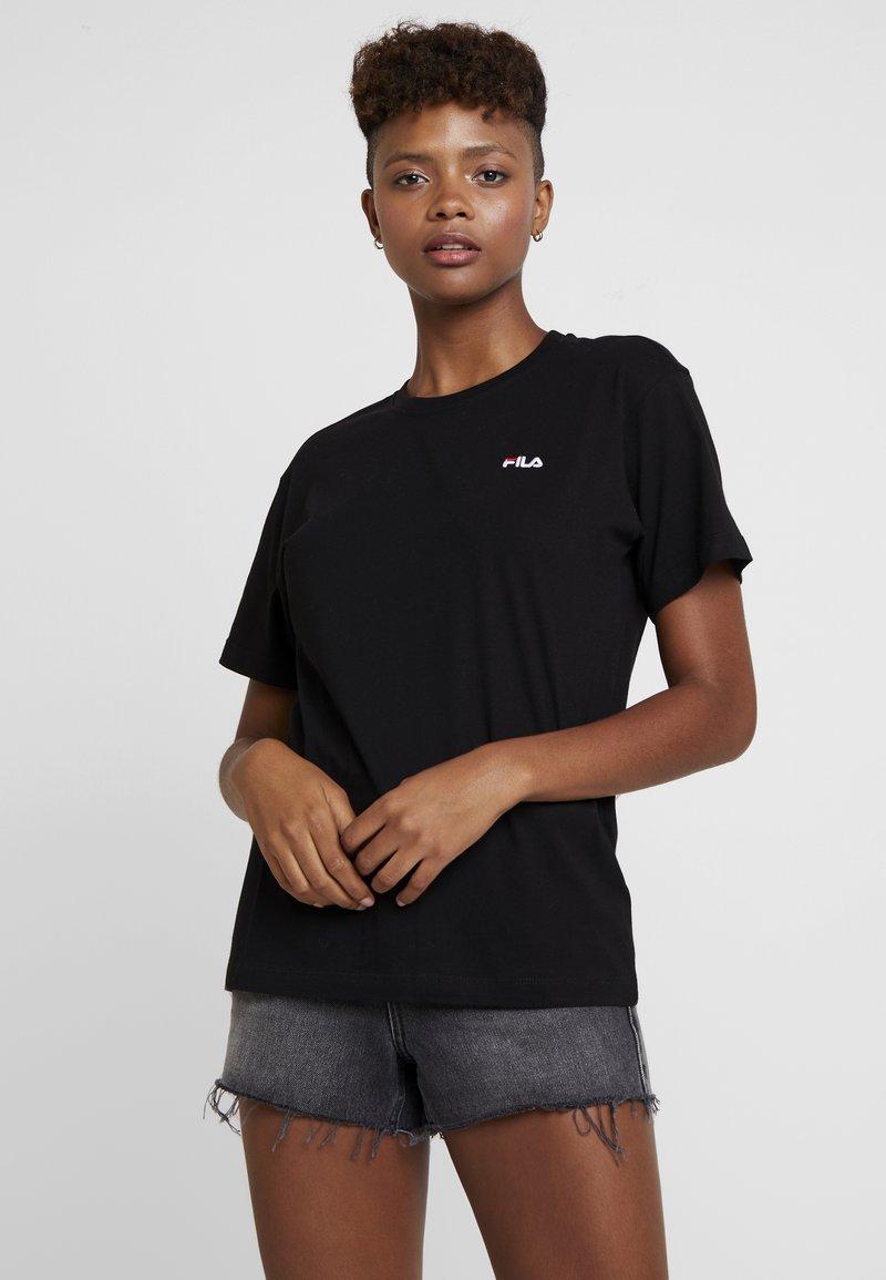 Fila - EARA TEE - Jednoduché triko - black