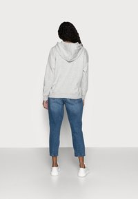 ONLY Petite - ONLFEEL LIFE HOOD  - Sweatshirt - light grey melange - 2