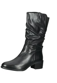 SPM Shoes & Boots - Laarzen - black leather - 2