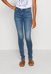 Esprit - Jeans Skinny Fit - blue medium wash - 0