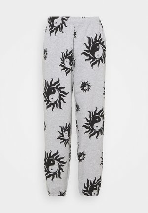 YIN YANG - Teplákové kalhoty - grey marl