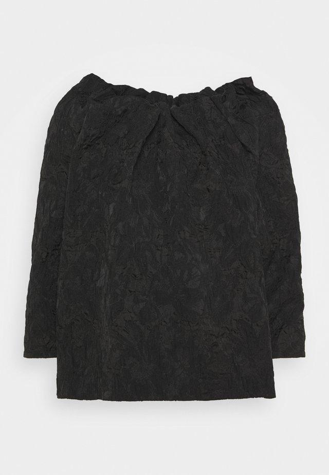 LINA - Blusa - black