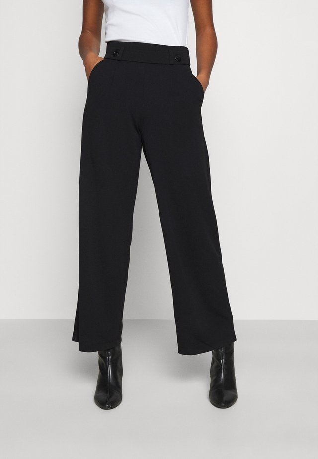 JDYGEGGO NEW LONG PANT - Tygbyxor - black