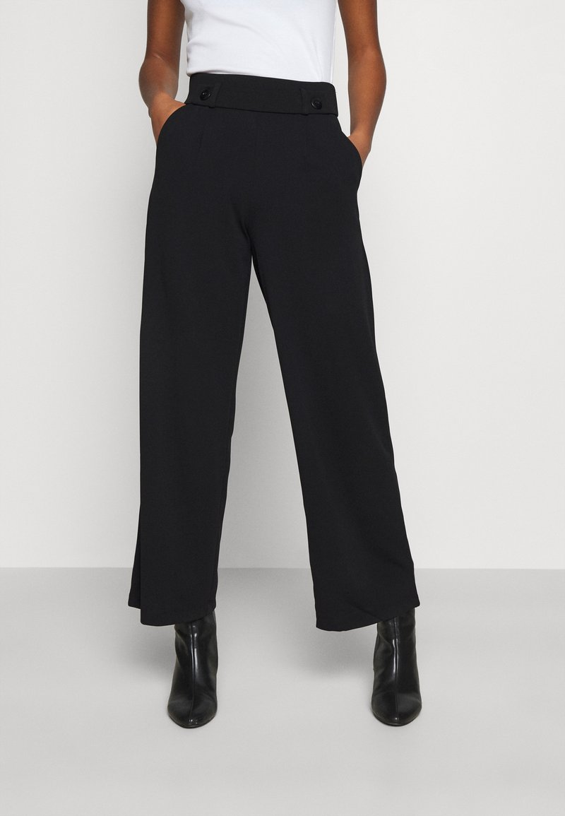 JDY - JDYGEGGO NEW LONG PANT - Pantalones - black