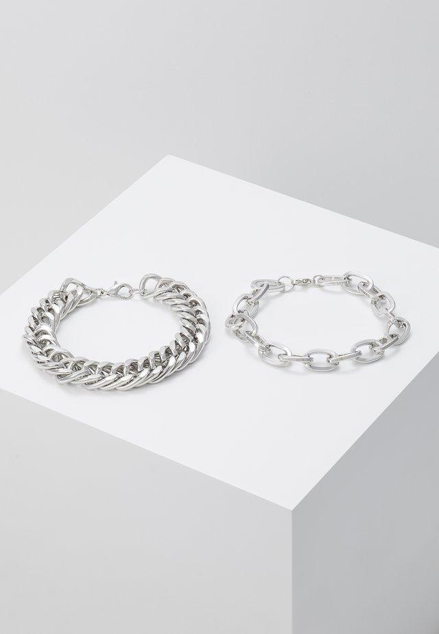 2 PACK - Rannekoru - silver-coloured
