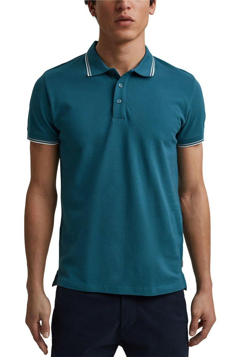 edc by Esprit - Polo shirt - petrol blue