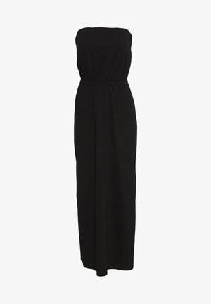 VICALINA STRAPLESS DRESS - Jerseykjoler - black