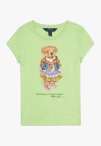 Polo Ralph Lauren - BEAR TEE - Triko spotiskem - key lime - 0