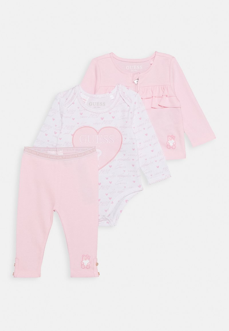 Guess - TAKE ME HOME BABY SET - Zip-up hoodie - ballerina