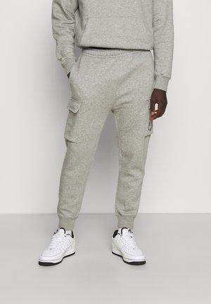 CARGO PANT - Pantalon de survêtement - dark grey heather