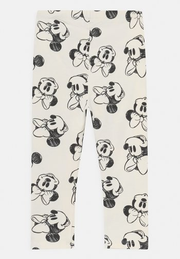 DISNEY MINNIE - MOUSE - Leggings - Trousers - ivory frost