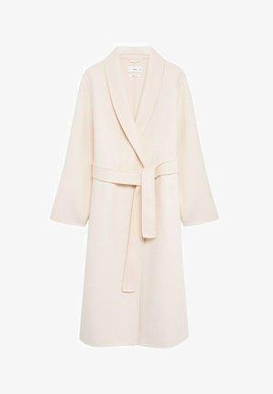 MANUELA - Zimní kabát - écru