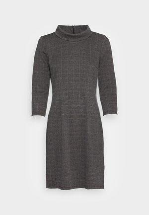 CHECK DRESS - Pouzdrové šaty - grey glencheck
