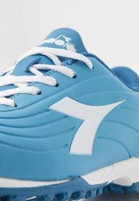 Diadora - PICHICHI 2 TF - Astro turf trainers - sky-blue/white - 2