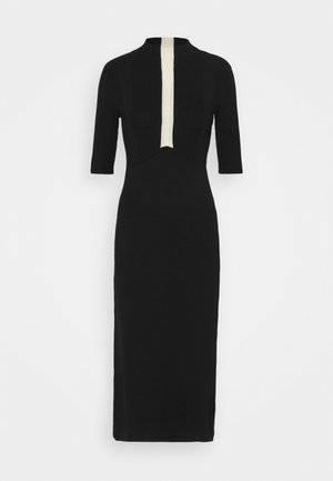 ABITO DRESS - Sukienka dzianinowa - nero