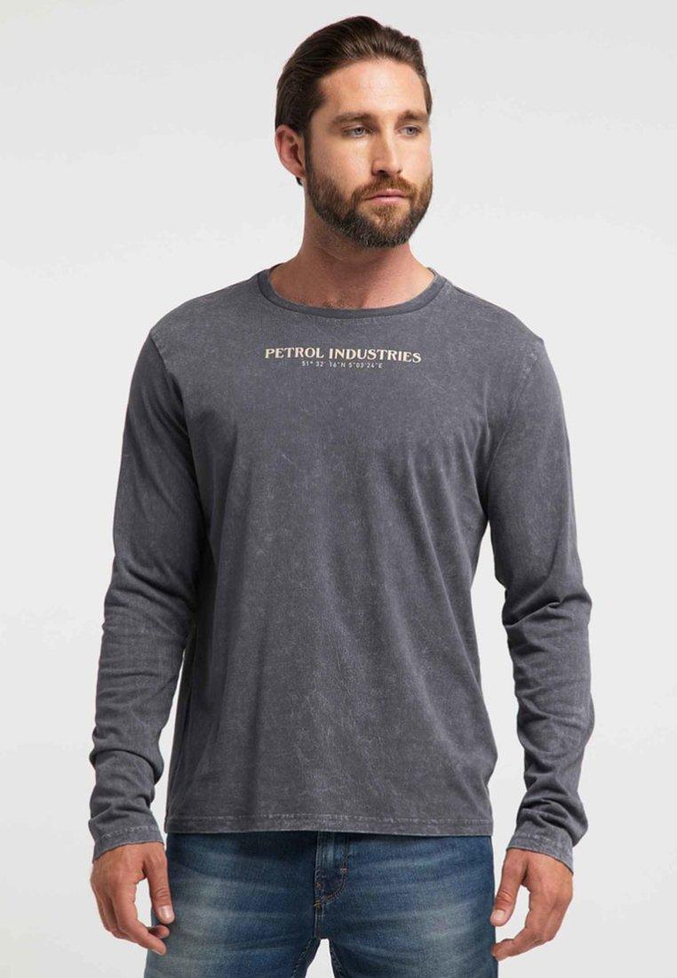 Gorąca wyprzedaż Gorąca wyprzedaż Petrol Industries Bluzka z długim rękawem - raven grey | Odzież męska 2020 SH1tZ
