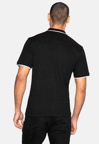Threadbare - WARD - Polo shirt - black rib - 2