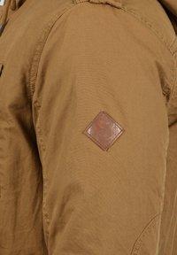 Solid - WINTERJACKE CLARKI TEDDY - Winter coat - light brown - 4