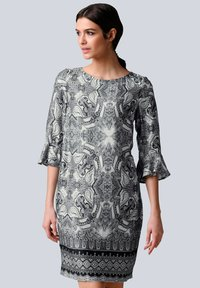 Alba Moda - Day dress - schwarz off white - 0