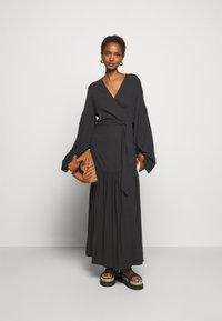 By Malene Birger - FRILLA - Maxi dress - black - 1