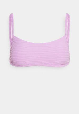 TANLINES BRALETTE - Bikini top - lit up lilac
