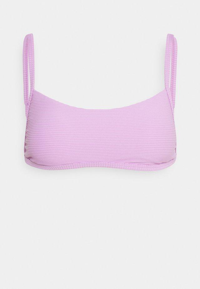 TANLINES BRALETTE - Bikiniöverdel - lit up lilac