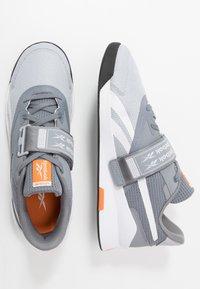 Reebok - LIFTER PR II - Chaussures d'entraînement et de fitness - cold grey - 1