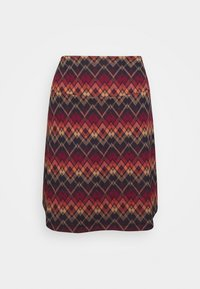 King Louie - BORDER SKIRT GUSTO - A-line skjørt - night blue - 0