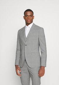 Isaac Dewhirst - THE FASHION SUIT PIECE CHECK - Completo - grey - 2