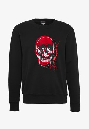 SKULL - Collegepaita - black