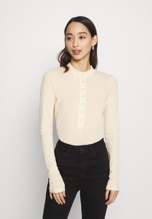 IRIS LONG SLEEVE - Top s dlouhým rukávem - light beige