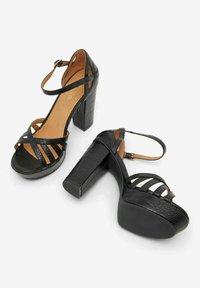 Bianco - BIACARLY - High heeled sandals - black - 4