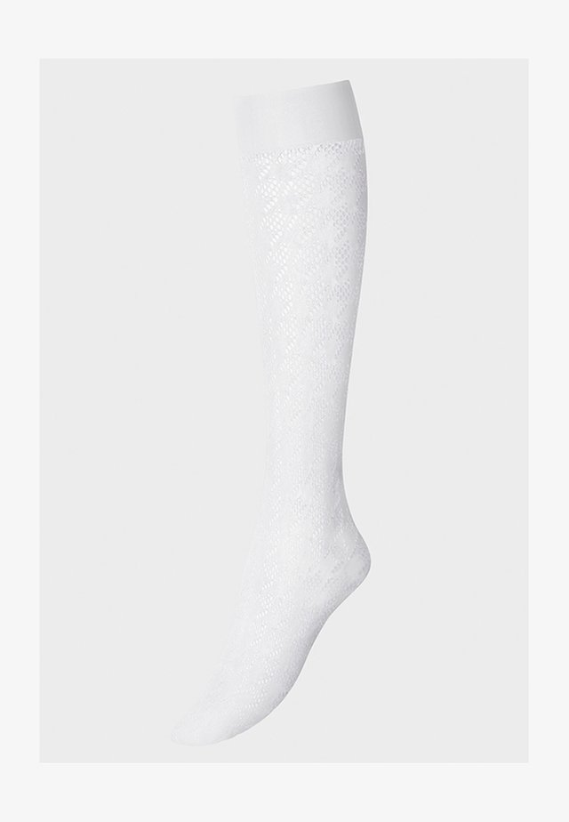 DYLAN - Knee high socks - white