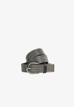 MIT STRASS  - Belt - grey